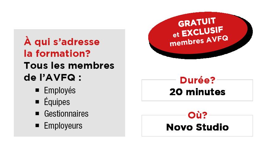 Programme adressé aux membres AVFQ