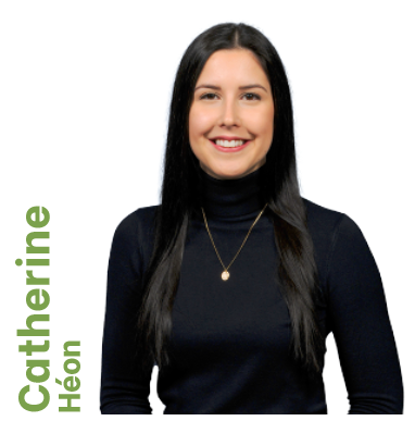 Gina Gaudreault - Vice-présidente à la direction