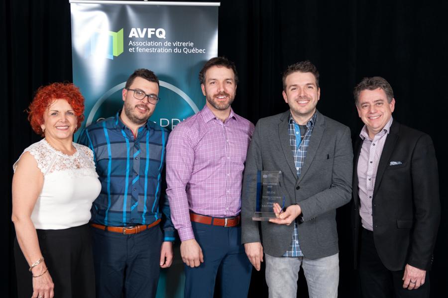 Gagnant Prix Lumières 2020 - Vitrerie A & E Fortin